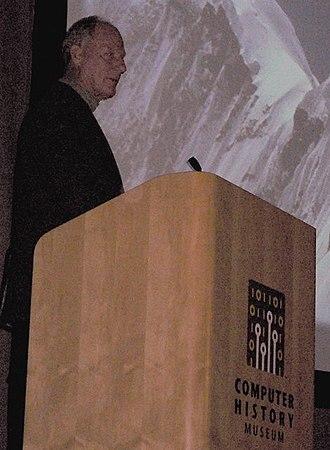 Jim Whittaker - Jim Whittaker speaking at the Computer History Museum.
