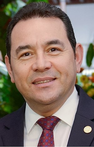 Guatemalan general election, 2015 - Image: Jimmy Morales Cabrera (Guatemala) cropped