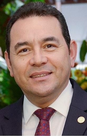 Guatemalan general election, 2015 - Image: Jimmy Morales Cabrera (Guatemala) cropped