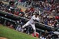 Joe Mauer - Minnesota Twins - Opening Day vs Seattle Mariners (40554103214).jpg