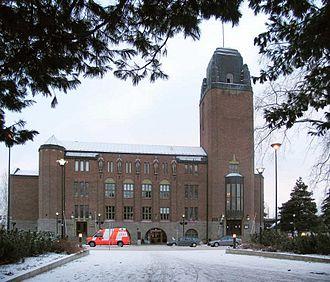 North Karelia - Image: Joensuu cityhall 1