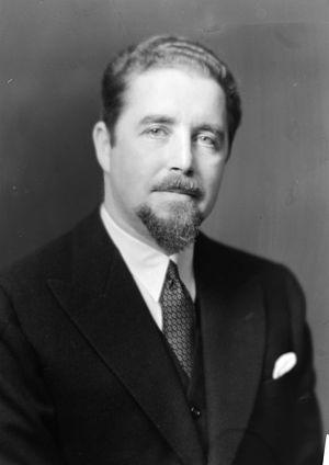 Johan Henrik Wiers-Jenssen - Johan Henrik Wiers-Jenssen in 1934