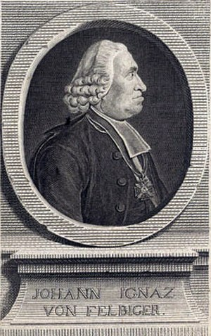 Johann Ignaz von Felbiger - Image: Johann Ignaz Von Felbiger