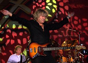 Trapeze (band) - The Moody Blues bassist John Lodge produced the first two albums by Trapeze, 1970's Trapeze and Medusa.