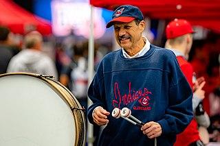 John Adams (drummer) Cleveland Indians spectator