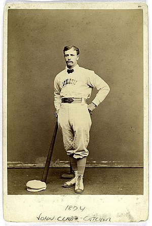Cleveland Blues (NL) all-time roster - John Clapp was the player-manager of the 1883 Blues.