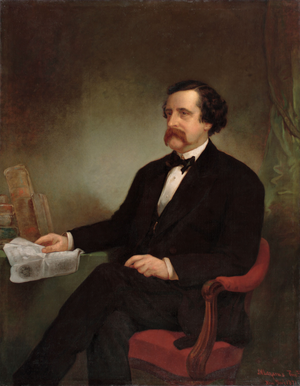 John T. Hoffman - Gubernatorial portrait of New York Governor John T. Hoffman.