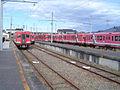 Johoku-Ota Station platform 20041226.jpg