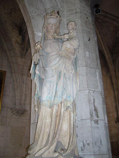 Église Saint-Thibault de Joigny: Vierge du XIVe siècle