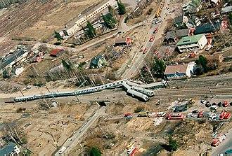 Jokela railway station - Jokela rail crash