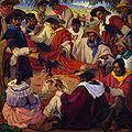Jorge Bermudez - Riña de gallos, 1917.jpg