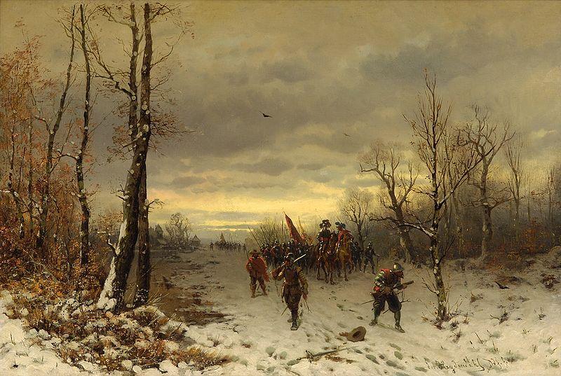 File:Josef F Heydendahl Szene aus dem dreißigjährigem Krieg.jpg