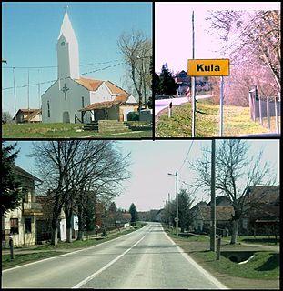 Kula, Croatia Village in Slavonia, Croatia