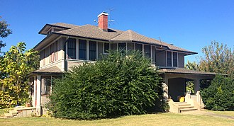 National Register of Historic Places listings in Lincoln County, Oklahoma - Image: Joseph Carpenter House