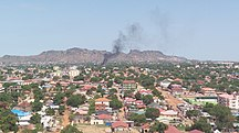 Dél-Szudán-Népességének változása-Juba City