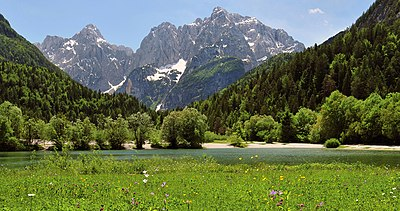 Julian Alps with Prisojnik and Razor.jpg