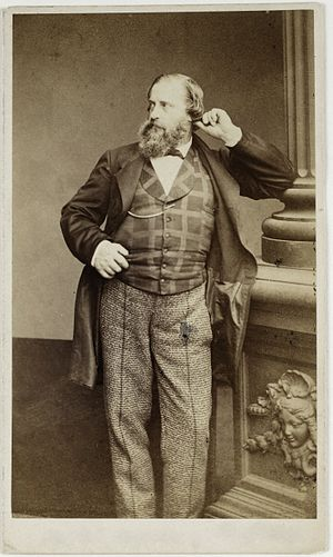 Julius Brenchley - Brenchley in 1862 by Adam-Salomon