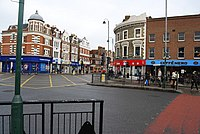 Junction of Mitcham Rd. and Tooting High St., Tooting. - geograph.org.uk - 1019797.jpg