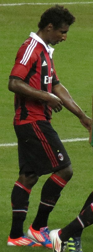 Kévin Constant - Constant with Milan in 2012