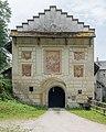 Köttmannsdorf Hollenburg Burganlage Torturm Scheinfassadenarchitektur 18062015 4931.jpg