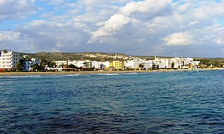 Kızkalesi Town in Mersin Province, Turkey