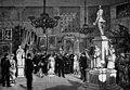 K. Brosch - Alexander III being shown statue of Alexander II by Walter Runeberg.jpg