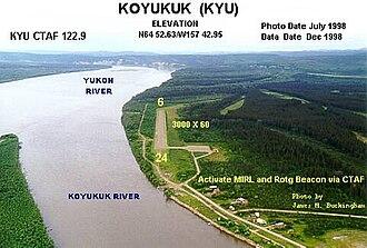 Koyukuk Airport - Image: KYU i
