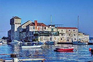 Kaštela Town in Split-Dalmatia, Croatia