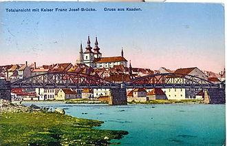Kadaň - Kadaň seen from the river