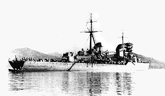 Pacific Fleet (Russia) - Light cruiser Lazar Kaganovich