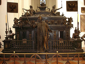 Hans Krumpper - Tomb monument of Emperor Louis IV in the Frauenkirche, Munich
