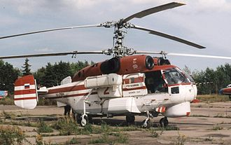 Kamov Ka-27 - Kamov Ka-32S of Omega Helicopters at Moscow Bykovo airfield in 2004