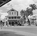 Kantoor van de Pan American World Airways in de wijk Spanbroek in Paramaribo, Bestanddeelnr 252-4962.jpg