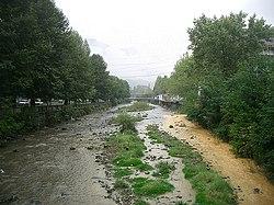 Voghji river in kapan