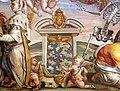 Karel van mander e aiuti, sala di fetonte, 1574-77, allegoria della lega santa 03.jpg