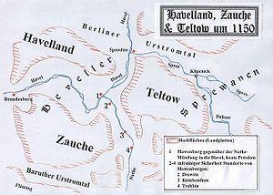 Karte(PS) Brandenburg 1150