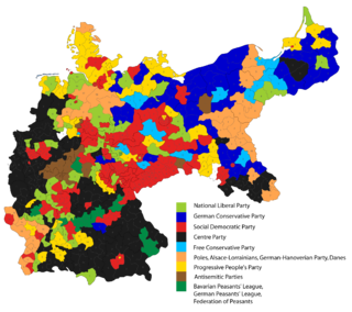 Constituency results, 1912
