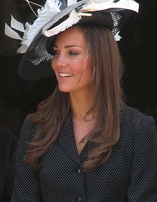 Kate Middleton at the Garter Procession 2008.jpg