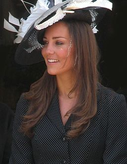 Kate Middleton at the Garter Procession 2008