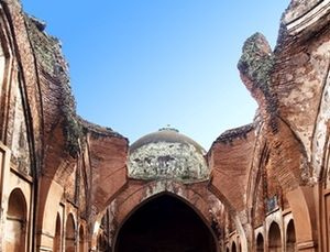 Katra Masjid - The dome of the mosque which was destroyed in the 1897 earthquake