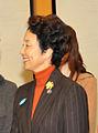 Kayoko Hosokawa cropped Hillary Rodham Clinton Yoshiko Mitsui and Kayoko Hosokawa 20090216.jpg