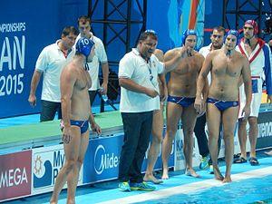 Dejan Savić - Image: Kazan 2015 Water polo Men Gold medal match 061