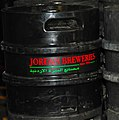 Kegs of beer in Amman, Jordan (cropped).jpg