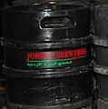 Kegs of beer in Amman, Jordan (cropped).jpg