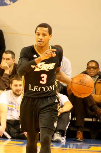 Keith Appling - Appling with the Erie Bayhawks in 2016