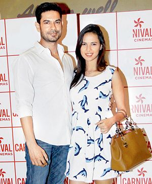 Rochelle Rao - Rochelle Rao with Keith Sequeira at the Premiere of Calendar Girls