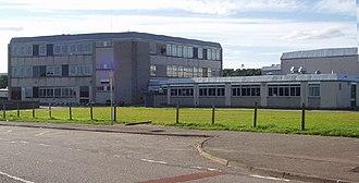 Kemnay - Kemnay Academy in 2005.