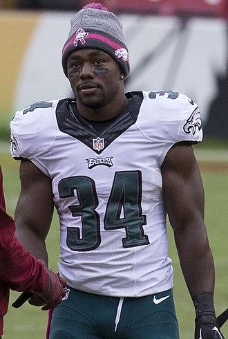 Kenjon Barner - Barner with the Philadelphia Eagles