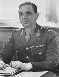 Kenneth Strong British Army general, later civil servant
