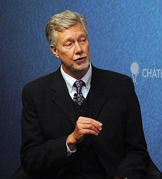 Kevin Bales - Bales at Chatham House in 2013